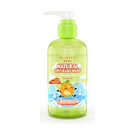 Gently cleanse with fresh Scent Orange Oil Purity baby 250ml